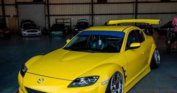 2004 Yellow Mazda Rx8 Japanese Alliance In 2020 Mazda Mazda Roadster Mazda 3 Hatchback