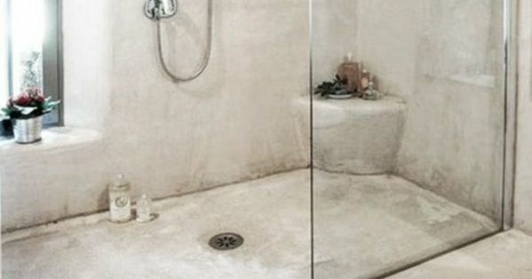 Badezimmergestaltung ideen rustikal walk in dusche l ufer for Ideen badezimmergestaltung