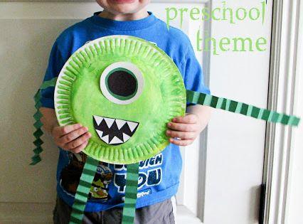Monsters Preschool Theme - Mommys Little Helper