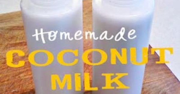 DIY Coconut Milk Shampoo {Hair Treatments} Would like to try this. I