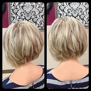 Short Layered Bob Hairstyles Back View Hairstyle For Women Man Hair Styles Thick Hair Styles Short Hair Styles
