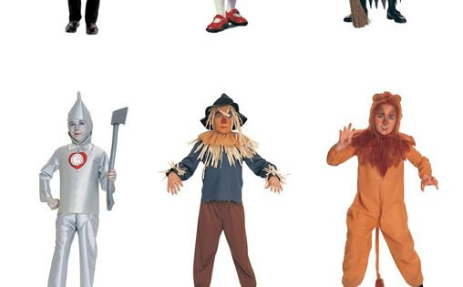 Wizard of Oz costumes: Every purchase earns a donation.