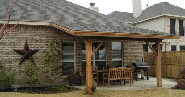 How To Build A Lean To On A Garage Ehow You May Also Like Description From Moondel Com I Searched For This On Bing Covered Back Patio Patio Steps Pergola