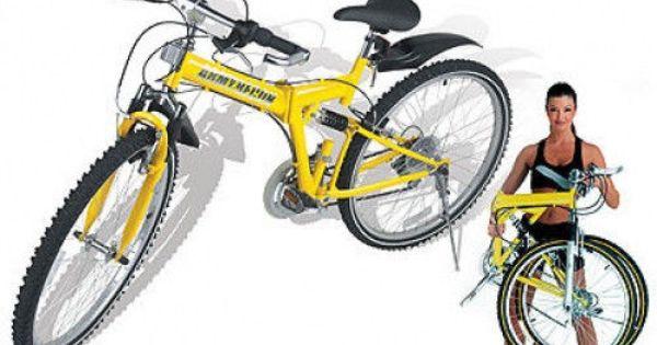 Full Size Collapsible Fold Up Folding Mountain Bike