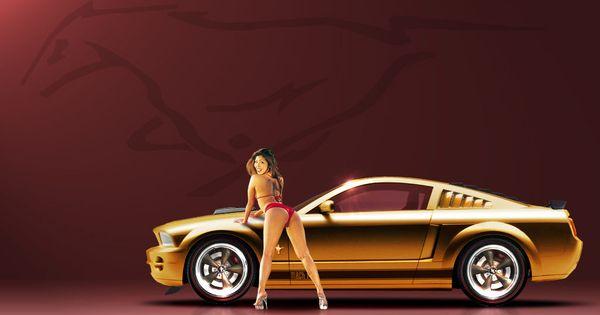 car e girl sexy nude