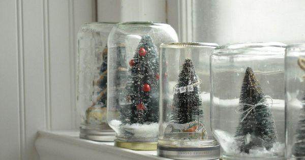 Boule Neige Faite Maison 36 Id Es De Cadeaux Ou D Coration Bricolage Et Bricolage