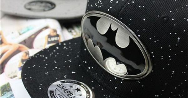 2014 New Fashion Batman Lovers Adjustable Snapback Hip-hop Baseball Cap Unisex New