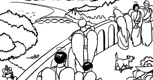 The Heaven Is For Real App Has Beautiful Coloring Pages
