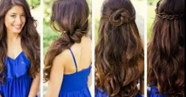 Cute Hairstyles For Long Hair Dailymotion Easy And Cute Hairstyles For Long Hair Video Dail Cute Hairstyles Long Long Hair Indian Girls Medium Hair Styles