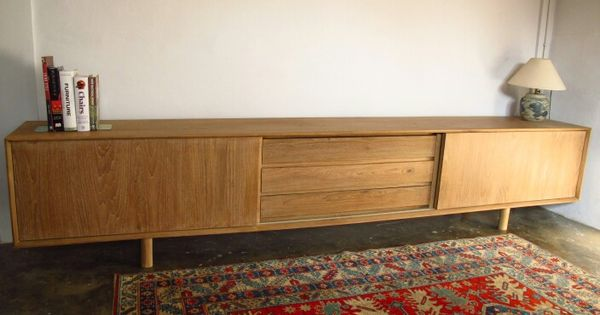 Midcentury inspired sideboard by kekayuan 300 x 45 x 60 for Fenetre 50 x 60