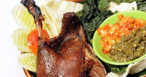 resep cara membuat masakan bebek goreng empuk enak sedap