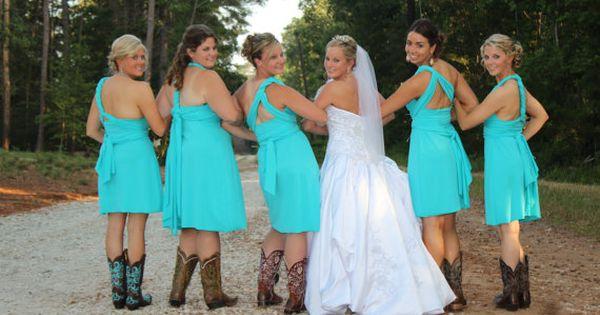 Medium Convertible Wrap Dress Knee Length... Bridesmaids, Beach ...