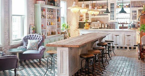 cuisine shabby chic pour un d cor chaleureux et romantique cuisine shabby chic shabby chic et. Black Bedroom Furniture Sets. Home Design Ideas