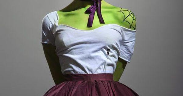 Zombie Pinups / Halloween Costume / Halloween makeup / halloween costume