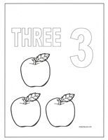 Number Coloring Pages With Images Coloring Pages Abc Crafts