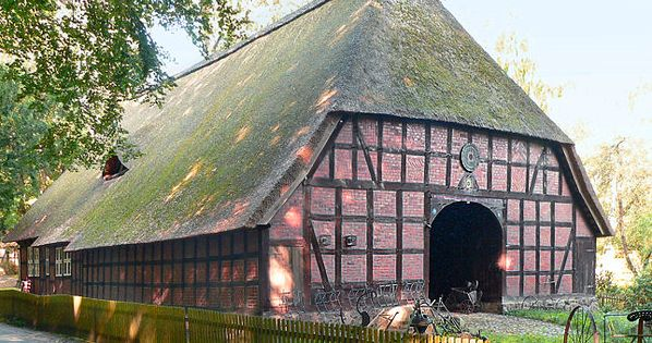 Walsrode Heidemuseum Low German House The