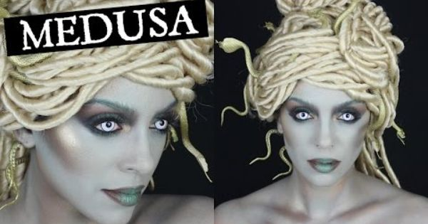 Modern Medusa Halloween Tutorial Youtube Halloween
