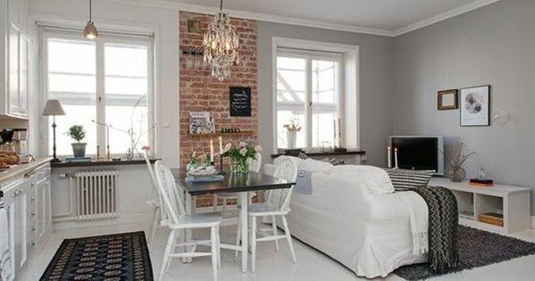 Meubler un studio 20m2 voyez les meilleures id es en 50 photos studio apartments and studio - Commentaar meubler un loft ...