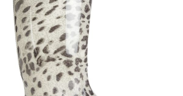 Däv Leopard Print Wellington Boots - I've got the same with belts