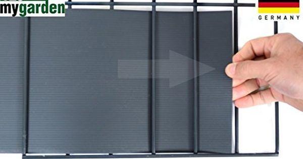 Amazon De Sichtschutz Windschutz Hart Pvc Streifen Zaun Blende Zum Einflechten Sichtschutzstreifen Hellgrau Doppelstabmatten Windschutz Zaun Doppelstabmatten