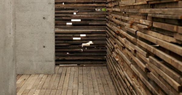 Textural wall