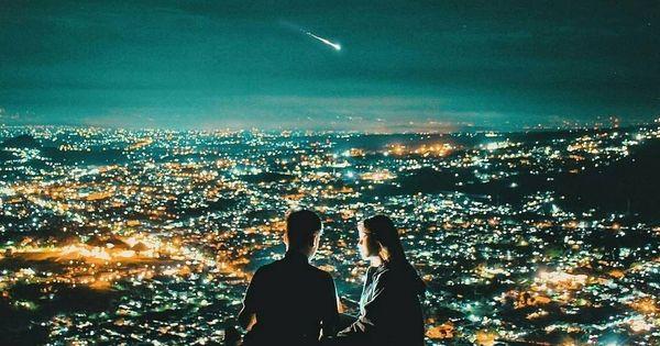 25 Foto Pemandangan Indah Pada Malam Hari Di 2020 Pemandangan Malam Langit Malam