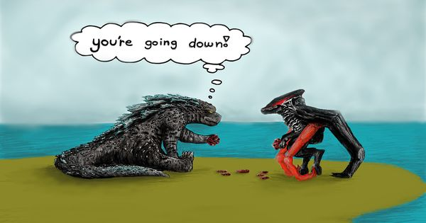 Godzilla Vs. Muto by Marvel-SlyCooperFan.deviantart.com on ...