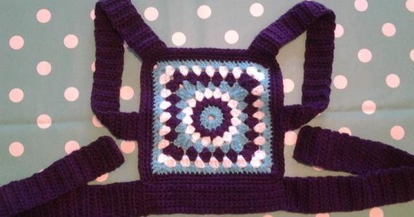 crochet baby doll sling carrier mei tai my makes ...