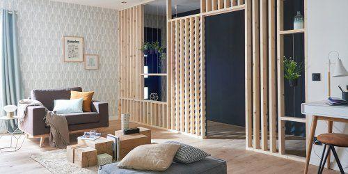10 Cloisons Amovibles Pour Separer Ses Pieces Avec Style Cloison Cloison Interieure Claustra