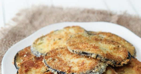 Keto Eggplant Parmesan...suggestion to soak in milk and rosemary overnight to get rid of the ...