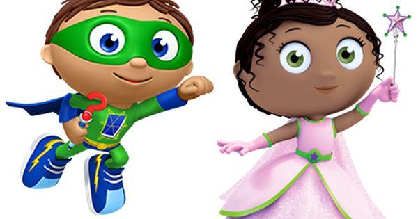 Super Why And Princess Presto