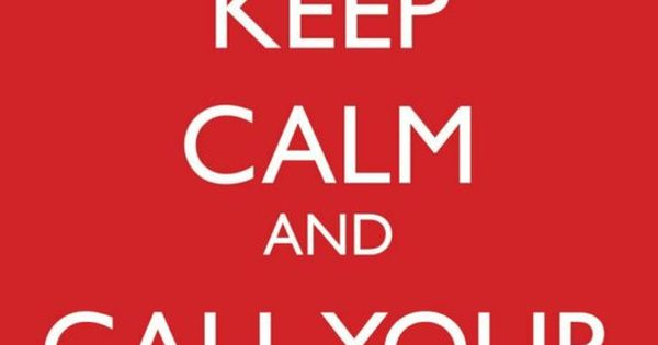 Keep calm and call your Mom- A life motto