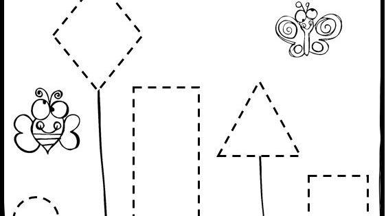 spring math and literacy worksheets for preschool vorschulbl tter feinmotorik und vorschule. Black Bedroom Furniture Sets. Home Design Ideas