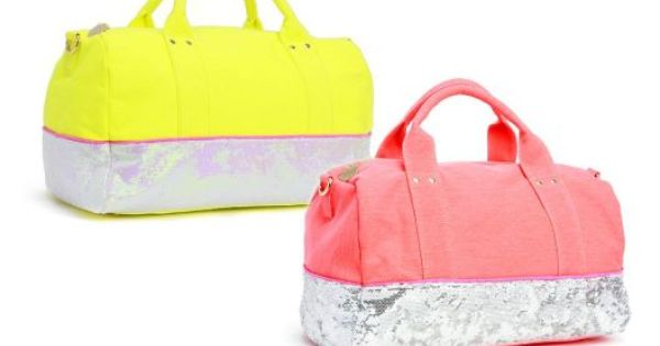 WOW! The yellow bag even has iridescent sequins Deux Lux Electric Avenue