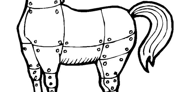 Coloring Pages Trojan Horse