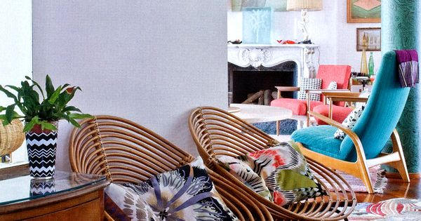 Colors! Patterns! | Margherita Missoni Milan Apartment /