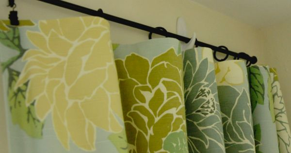 Hang Curtains With Command Hooks A Solution For Apartment Living Nifty Tricks Pinterest