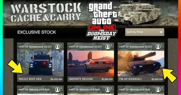 Cool Gta Online The Doomsday Heist Dlc All 13 New Confirmed