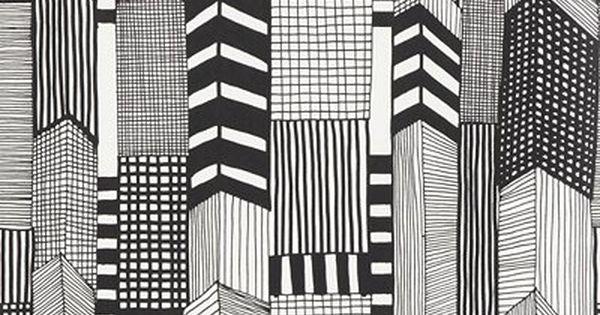 Marimekko Ruutukaava Wallpaper pattern. print pattern texture graphics art design inspiration
