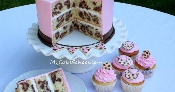 Make a Leopard Cake! And learn how to create really cool effects