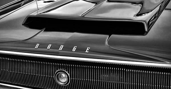 1967 Dodge Charger Hood Scoop My Classic Car Photography