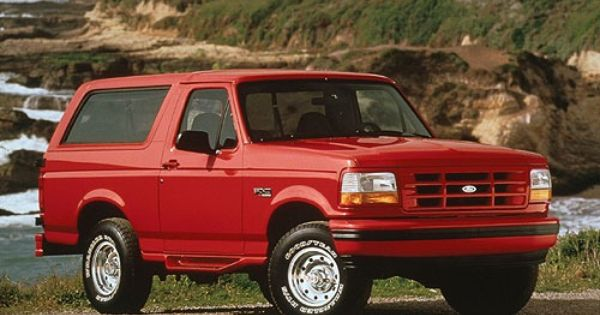 96 Ford Bronco Red Dport Google Search With Images Ford