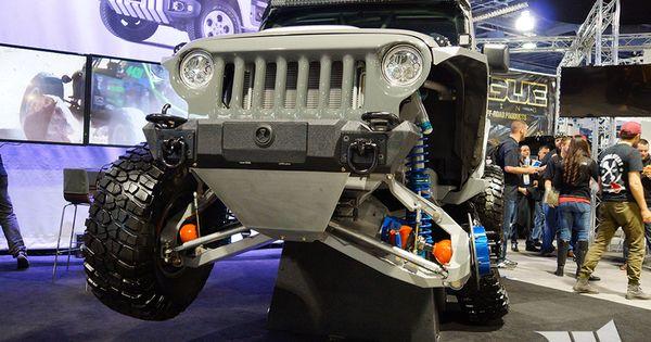 2015 Sema Amanda Ifs Irs Jeep Jk Wrangler Unlimited Jeep Jk