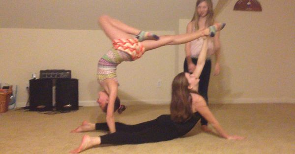 Cool Acro Trick Acro Dance Pinterest