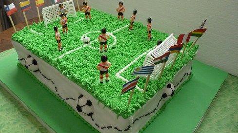 Modelos De Tortas Decoradas De Fútbol Para Niños Y Adultos
