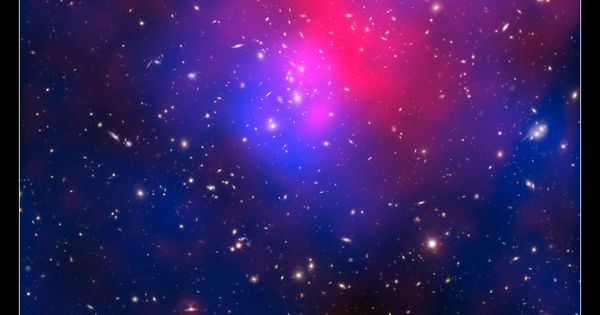 Ios 7 Iphone Wallpaper: The Galaxy Cluster Abell 2744, Nicknamed Pandora's Cluster