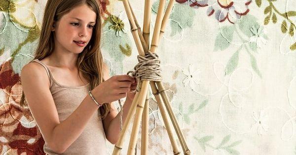 comment fabriquer un tipi enfant le blog de zinezo julia pinterest recherche atelier. Black Bedroom Furniture Sets. Home Design Ideas
