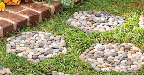 Idea para hacer un paso de jard n ideas para el jardin - Ideas para hacer un jardin ...