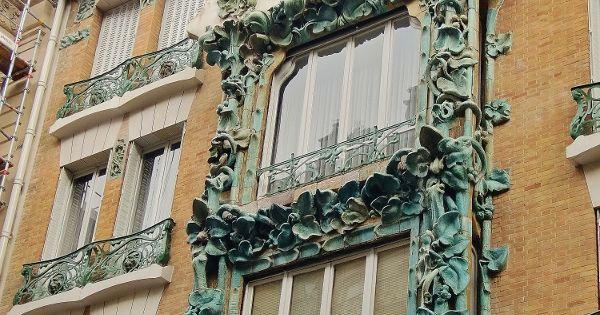 Paris 10 me 14 rue d abbeville immeuble style art for Architecte abbeville