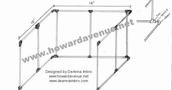 pvc booth diagram